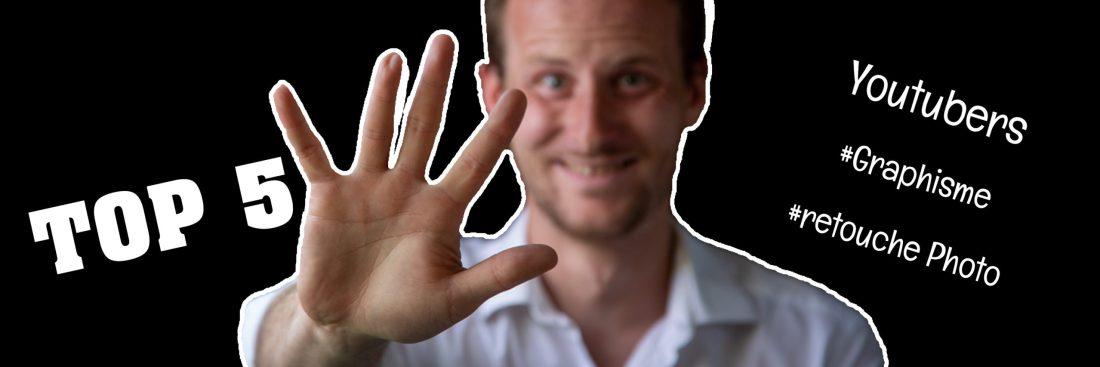 Top 5 youtubeur graphisme et Retouche Photo