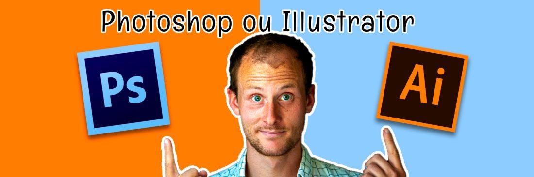 La différence entre Photoshop et illustrator