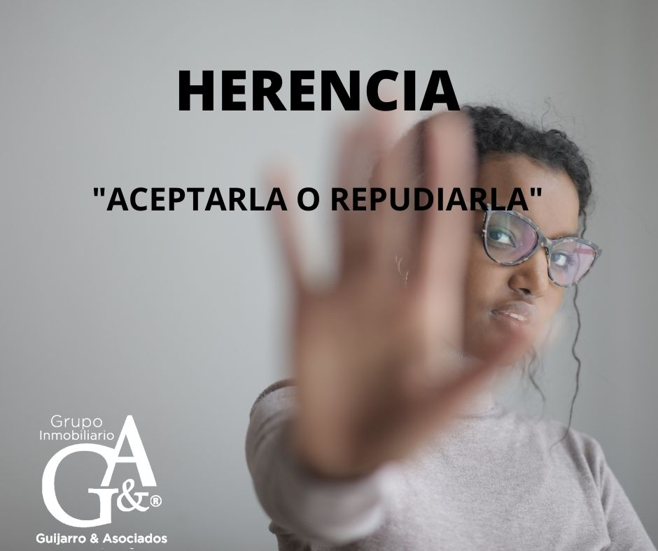 Aceptar Herencia