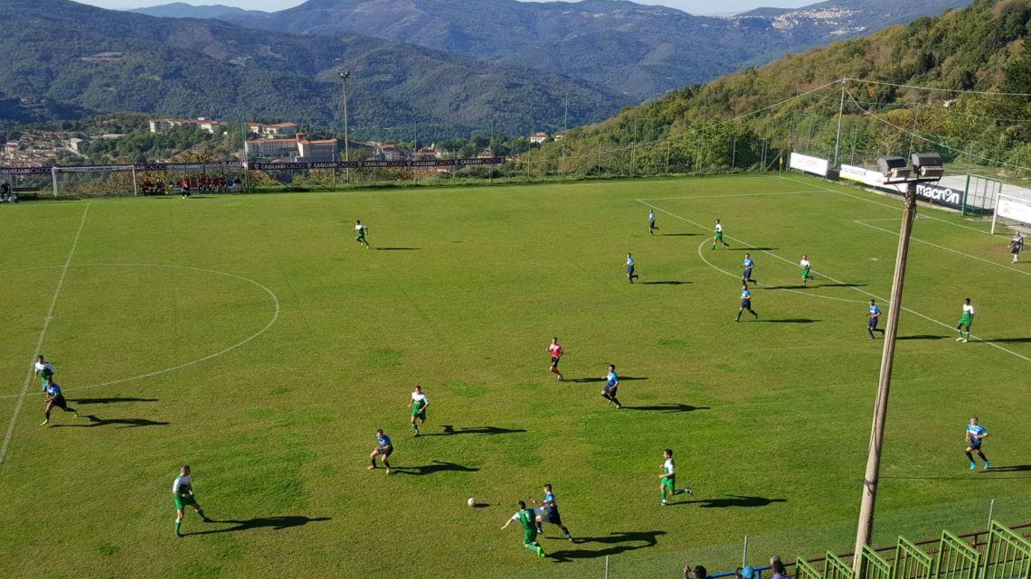 Calcio 1a Categoria girone C. Primo punto della Paulese ad Aritzo: in gol Piero Sciolla