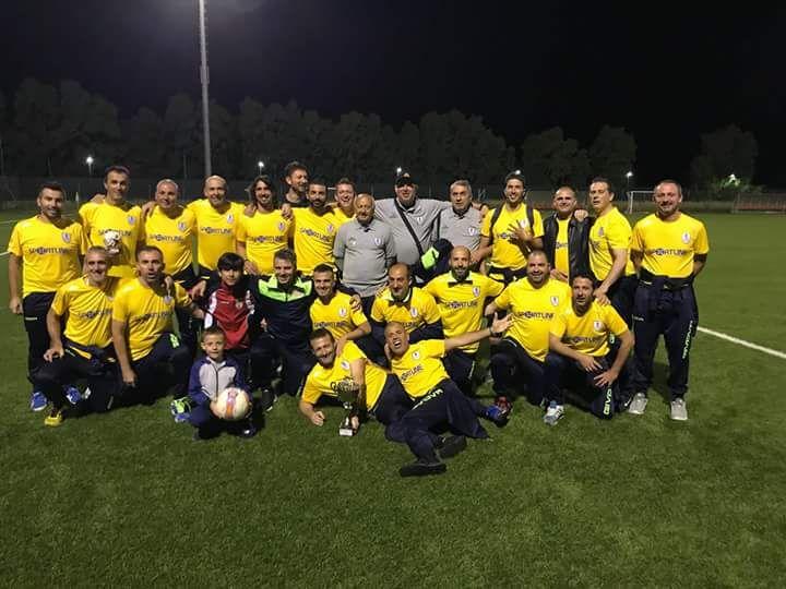 Calcio Over 35 FIGC. Il CR Arborea campione provinciale. Battuto in finale il Sili 2012 per 4 0