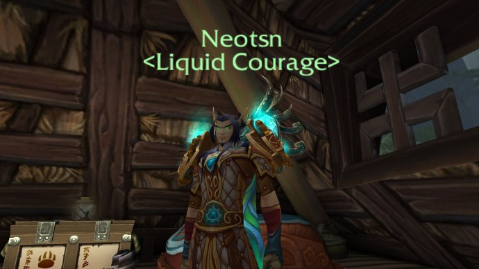 From a Blood Elf Mage, with a bonus to Enchanting