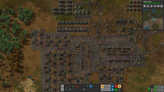 Factorio Factory Layout