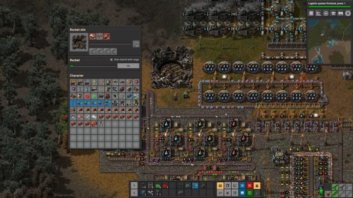 Factorio Rocket Silo