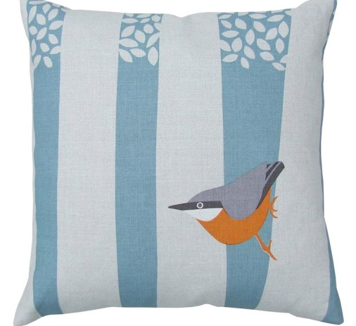 Nuthatch Cushion