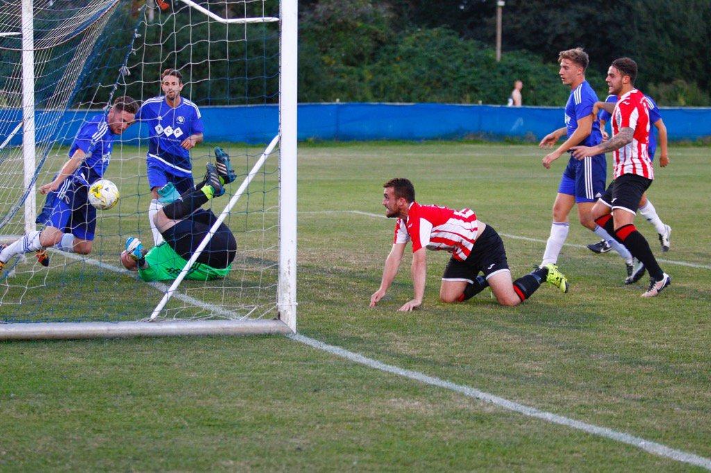 Jake Downs scores vs Windsor