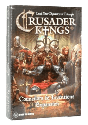 Crusader Kings Councilors & Inventions Expansion