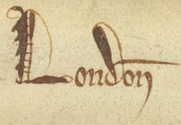 King John Charter 1215 CLRO REF - CH10 Width -  Height -