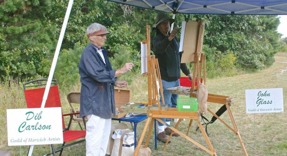 Beautiful Weather for the 5th Annual Harwich Conservation Trust Wildlands Music & Art Stroll