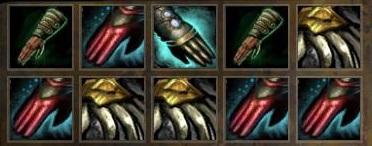Cloth Crab Grabbin' Gloves Forge Loot
