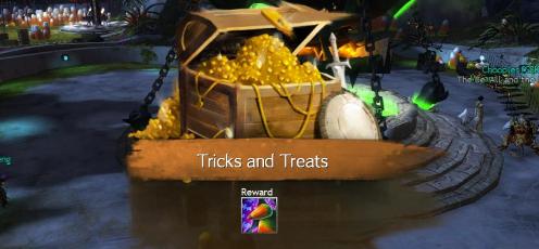 Tricks and Treats Reward