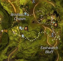 Bristleback Chasm Flax Seeds Map