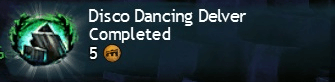 Disco Dancing Delver Completed