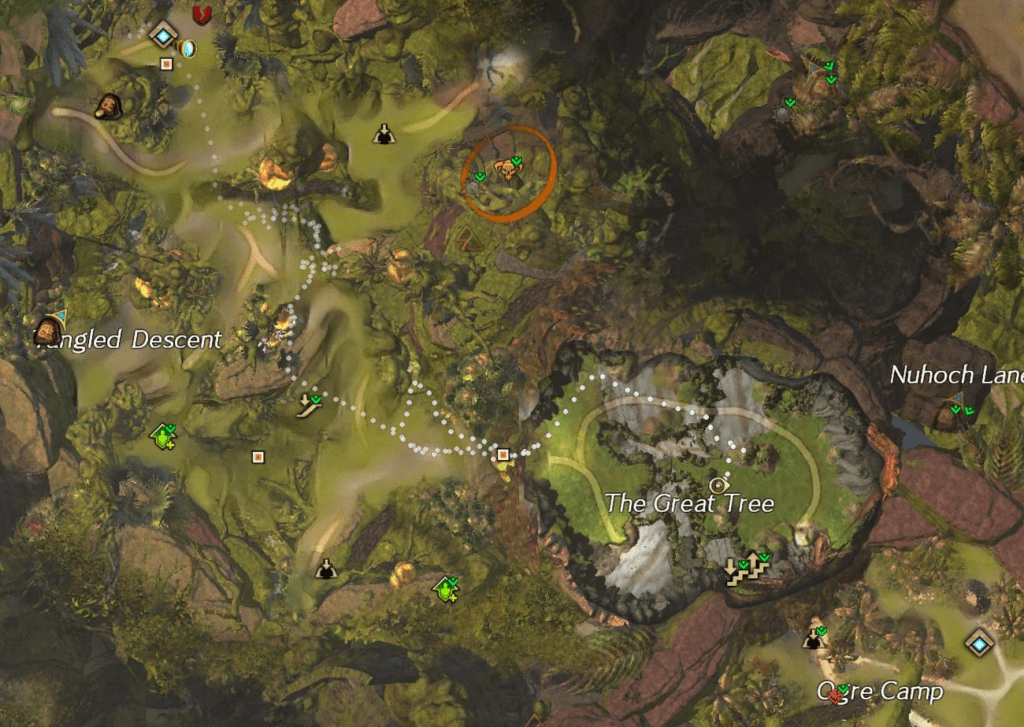 Great Tree Map