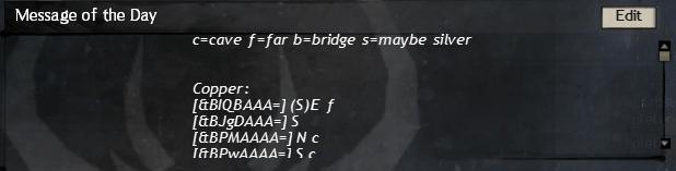 Guild Chat Message