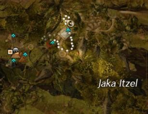 Jaka Village Flax Garden Map