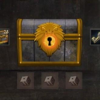 Black Lion Chest Drop Data