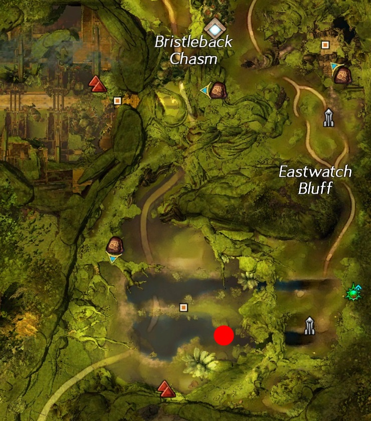 Treasure Mushroom Auric Basin Map