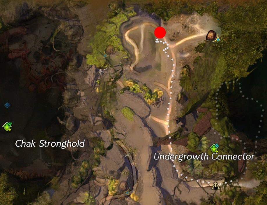 Treasure Mushroom Tangled_Depths Map