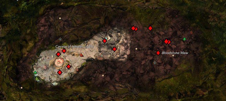 r Level Bloodstone Node Map
