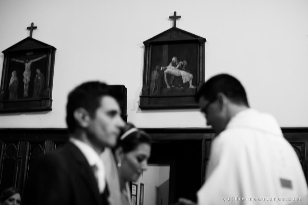 Fernanda e Charles: Fotografia de casamento em Lages (Os quadros cristãos)