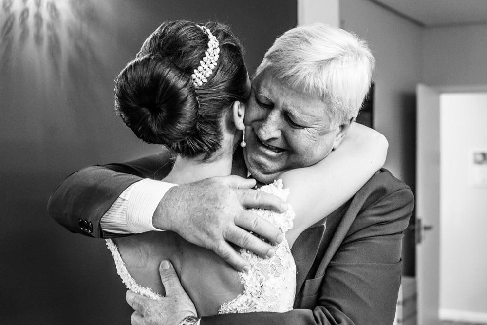 Fotografia de Casamento com emoção