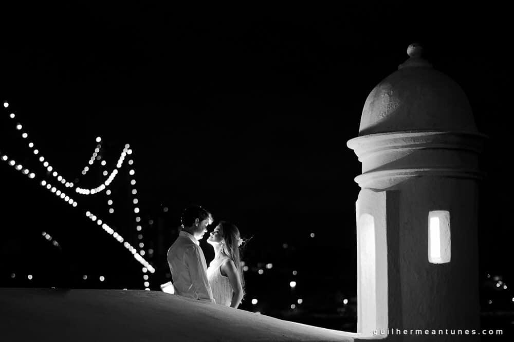 Aletheia e Kleverson: Ensaio pré-wedding (Ponte Hercílio Luz ao fundo)