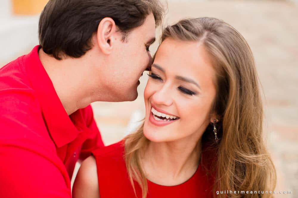 Aletheia e Kleverson: Ensaio pré-wedding (Vermelhos da paixão)