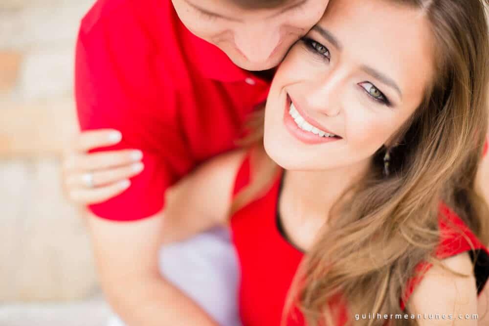 Aletheia e Kleverson: Ensaio pré-wedding (Abraço da felicidade)