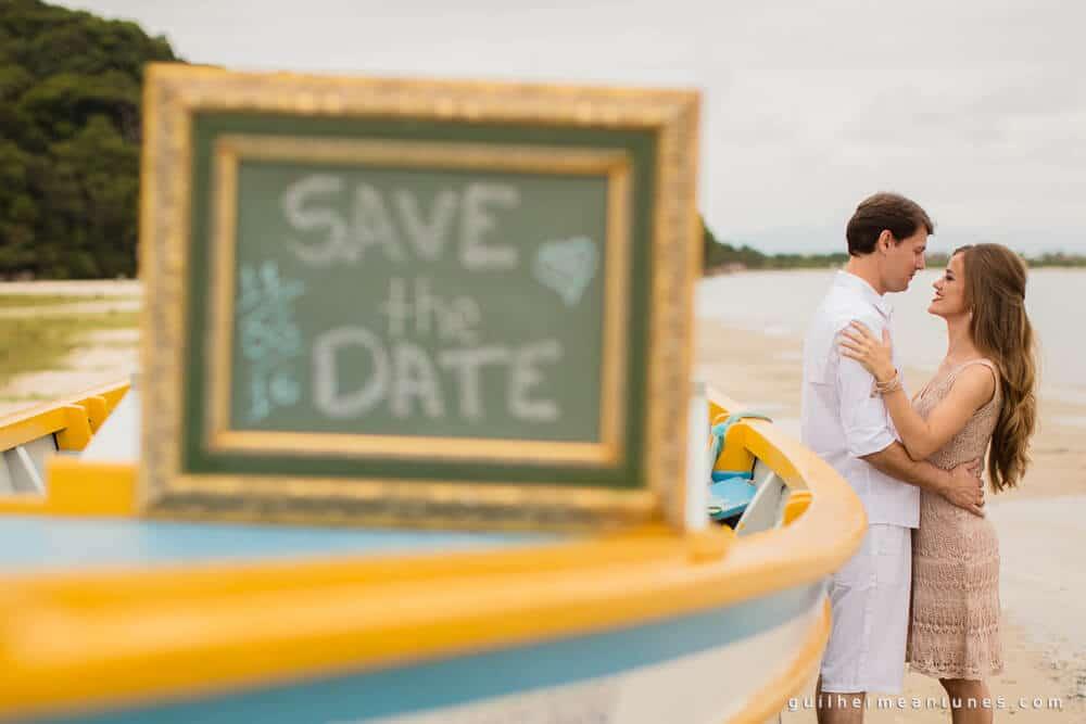 Aletheia e Kleverson: Ensaio pré-wedding (No barco)