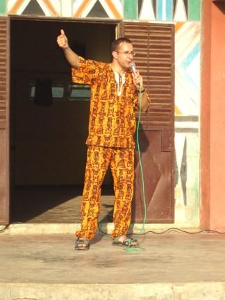 Prestation au Sénégal