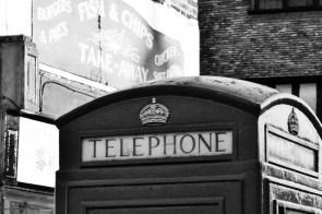 English phone booth - NB