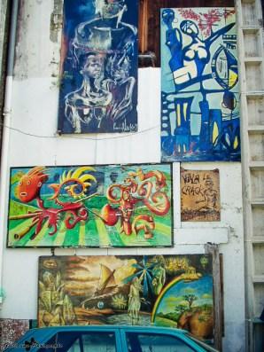 Basse-Terre-Art, ces tableaux ont aujourd'hui disparus