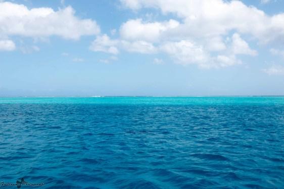 Tahaa - en mer le bleu change
