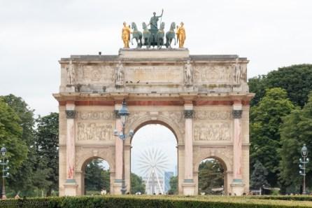 Paris autrement - le triomphe en perspective
