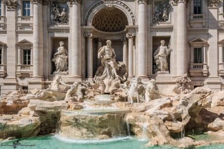 Rome - la Fontaine de Trevi