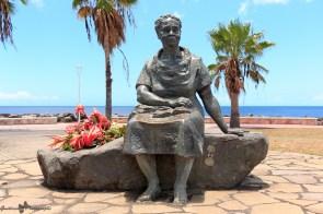Basse-Terre - Statue de Gerty Archimède