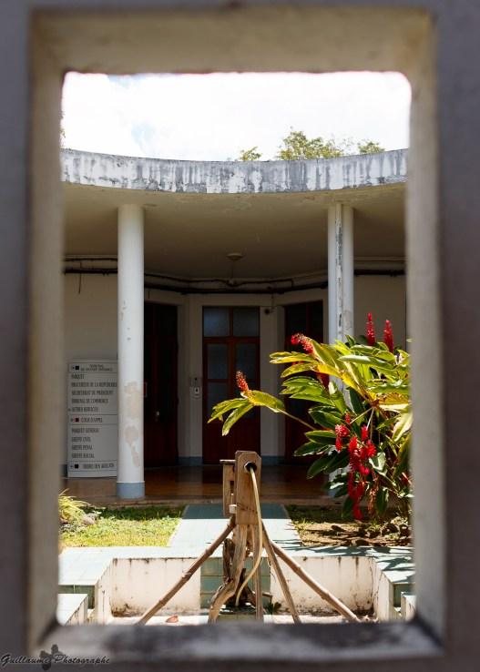 Basse-Terre - le Palais de Justice