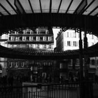 Strasbourg, place de l'homme de fer.