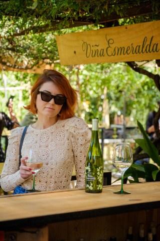 Fotografies del stand de Viña Esmeralda @ Palo Market Barcelona