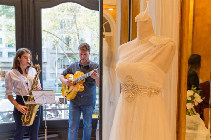 Esdeveniment de presentació vestits de núvia Raimon Bundó