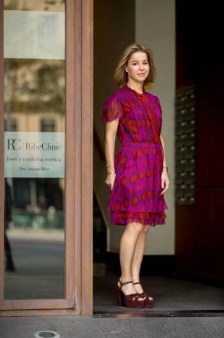 Fotografies corporatives a Dra. Adriana Ribé de Ribé Clinic