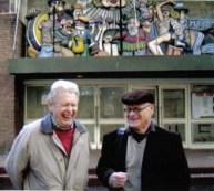 Gregorio with Juan A. Molenberg, Inventor of the Coplanar