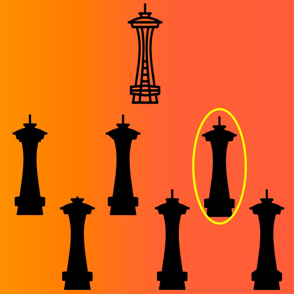 Respuesta juego mental imagen Seattle