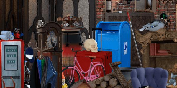 habitacion objetos ocultos