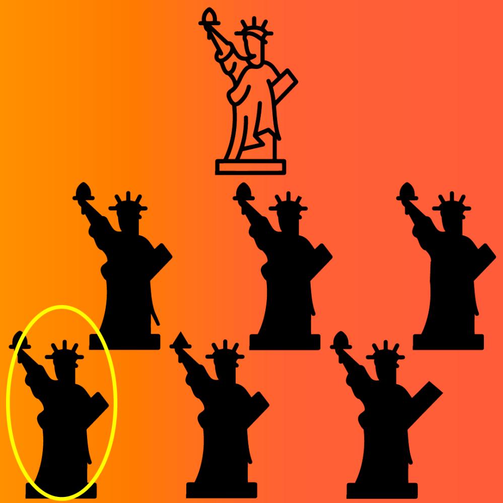 Answers brain training Statue of Liberty
