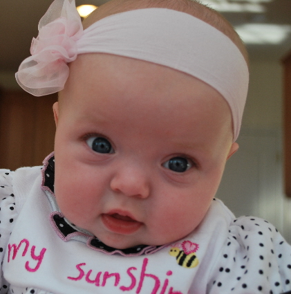Look at Little Miss Adorable...