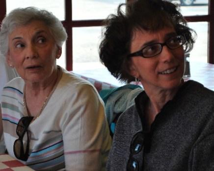 Aunt Ida and Nanc can't believe how cute I am....