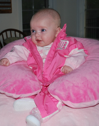 Here I am, looking pretty in PINK!