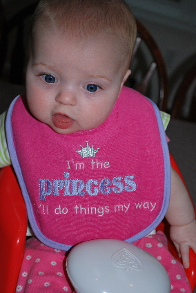 I'm the PRINCESS, I'll do things my way!